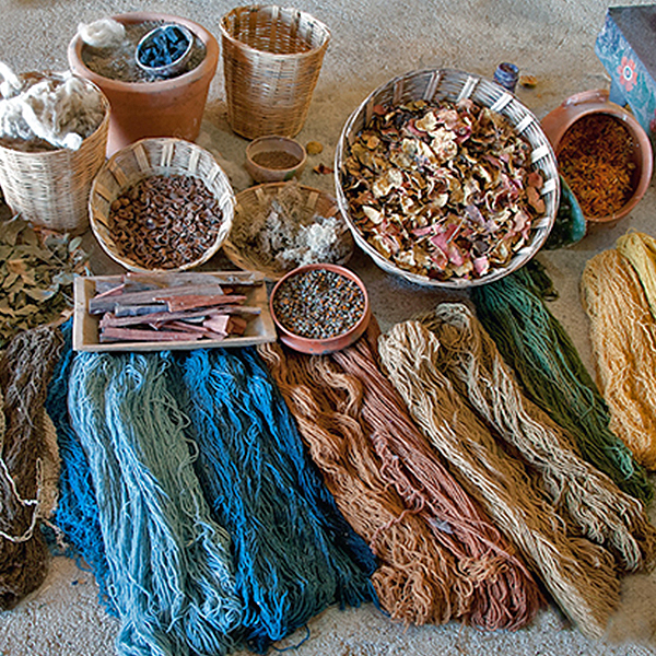 Corso di tintura (fibre animali)