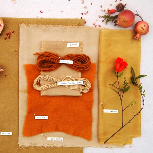 Corso di tintura (fibre vegetali)